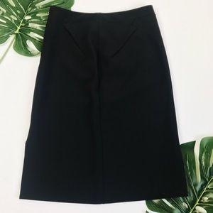 ZARA Basic Black Pencil Skirt Small